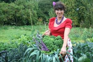 Vic in garden